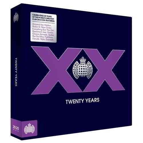 Ministry Of Sound: XX Twenty Years [4CD Box Set] (2019) скачать через торрент