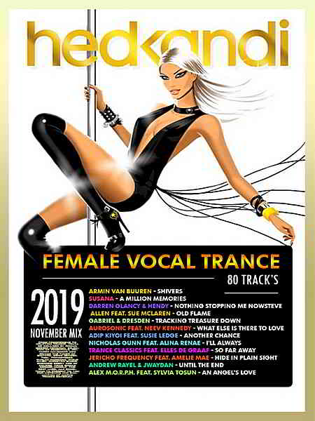 Female Vocal Trance: Hedkandi Mix 2019 торрентом