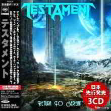 Testament - Return To Serenity [3CD] (Compilation) 2020 торрентом